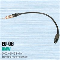 Car Radio Antenna Adapter Cable Wire For BMW 2002 2015 Aftermarket Stereo CD DVD GPS Installation