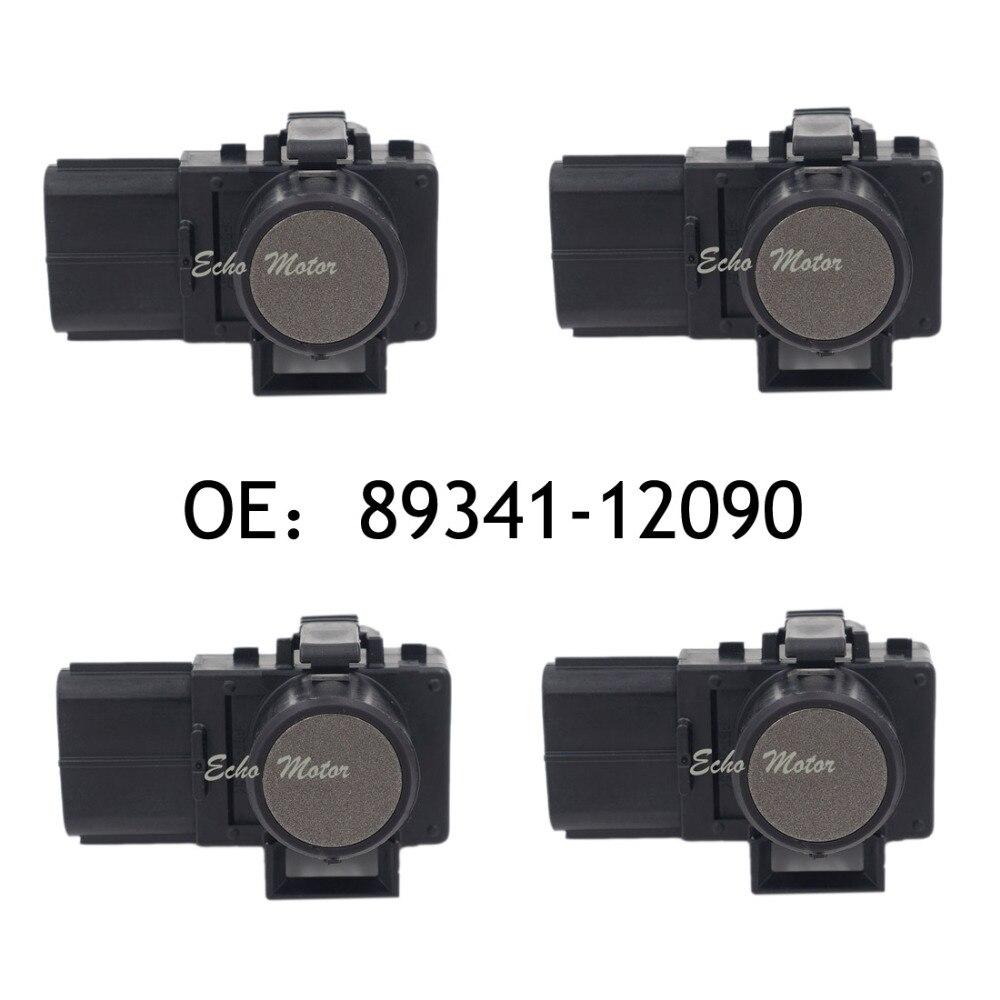 NEW SET(4) 89341-12090 188300-2100 Parking Sensor Distance Control Sensor Car Detector for Toyota new set 4 89341 0c010 42342 parking ultrasonic sensor for toyota tundra 2014 2015 left right 0c010 42342