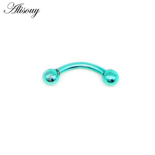 Alisouy 1pcs Surgical Stainless Steel Eyebrow Nose Lip Captive Bead Ring Tongue Piercing Tragus Cartilage Earring.jpg 640x640 - Alisouy 1pcs Surgical Stainless Steel Eyebrow Nose Lip Captive Bead Ring Tongue Piercing Tragus Cartilage Earring Body Jewelry