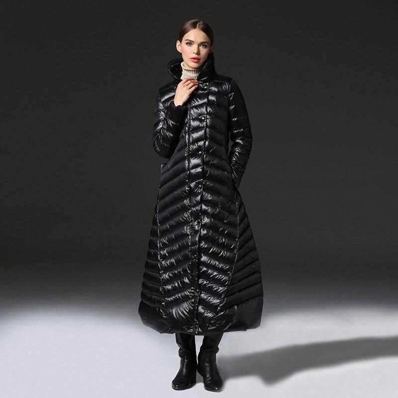 Arbitmatch Fashion 2018 New Winter Down Jacket Women Down Coat X Long Skirt Warm Thicken Jacket 90% Duck Black Down Parka Female new arrival 2018 winter europe fashion women s duck down coat