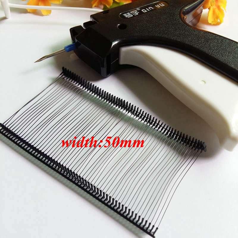 sourcingmap Snap Lock Broche s/écurit/é Boucle Plastique /étiquette Fixation Cravate 7 Pouce 500 Pi/èces