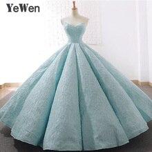 الخامس الرقبة الأزرق الدانتيل تول فساتين السهرة 2020 طويل حجم كبير فستان حفلات الزفاف الكرة ثوب فستان رسمي أنيق فستان حفلات