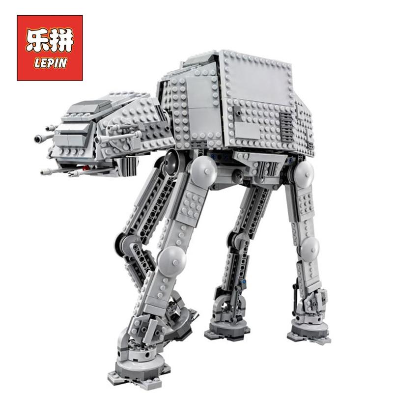 Lepin 05051 Star War Series Building Blocks Bricks Force Awaken The AT-AT Transpotation Armored Robot Compatible LegoINGly 75054 чехол для ноутбука 12 printio любовь