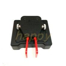 Yeni UNI 730A tuş takımı, otomatik anahtar radyo/Mini CW mors kodu/otomatik kürek anahtar Keyer mavi yeşil CW mors kodu HAM R ADIO
