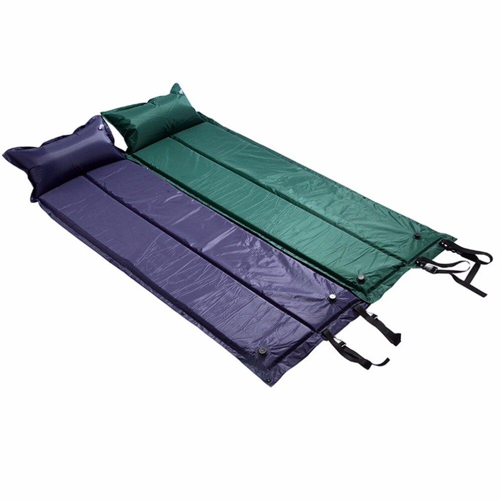2016 Nouveau Portable En Plein Air Gonflable Automatique Camping Tente Matelas Pad Tapis De Couchage