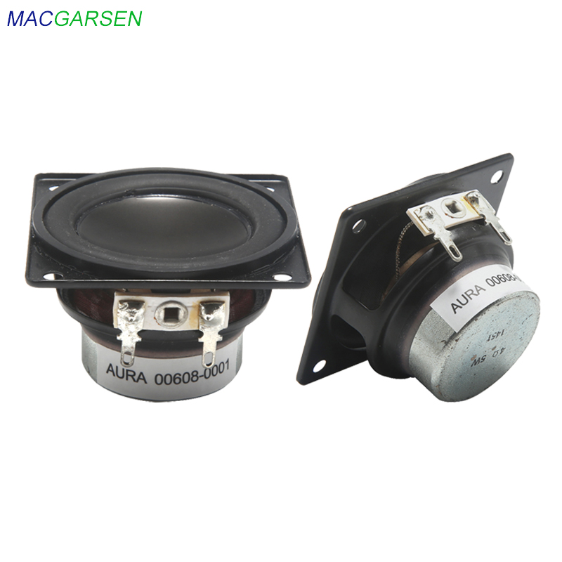 2 inch Bookshelf Speaker 4 ohm 5W Full Range Speakers DIY ...