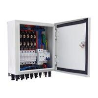 6 строка Солнечный PV Комбайнера окна W автоматические выключатели Surge молниезащиты для решетки системы солнечной энергии