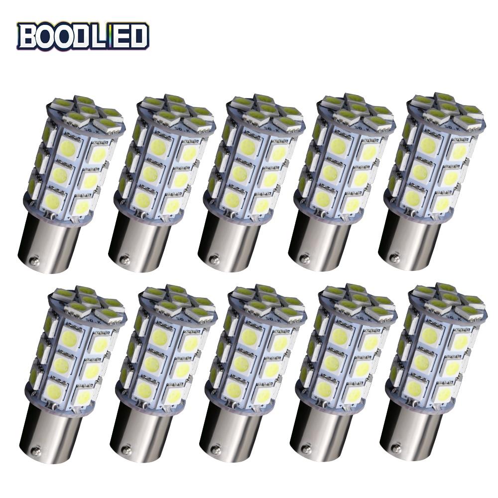 10pcs/lot 1156 27 SMD 5050 27SMD LED Brake LED Bulb 12V BA15S P21W White Warm White Auto Brake Reserse Signal Lights Lamps Bulb задние поворотники gfg 10pcs lot 1156 18 smd 5630 ba15s 18smd