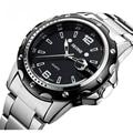 2015new Watches men luxury brand Business Watch quartz sport men full steel wristwatches dive 30m Casual clock relogio masculino