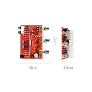 Image 3 - لوسيا TDA7377 مضخم الصوت الرقمي مجلس 40 واط + 40 واط ستيريو 2.0 قناة الطاقة مكبر للصوت للسيارة لتقوم بها بنفسك المتكلم DC12V E5 005