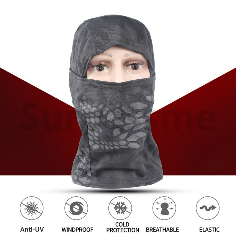 Tactical full face mask face shield