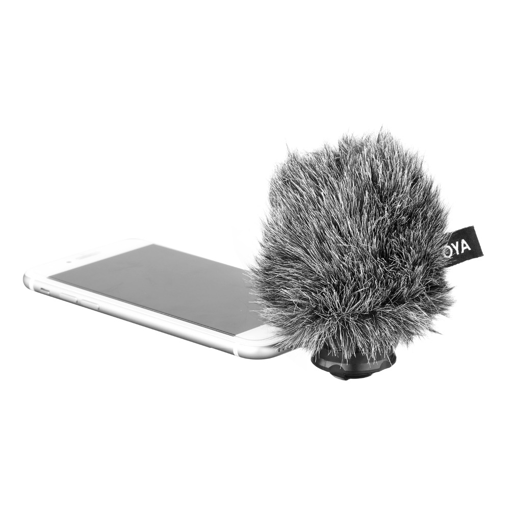 BOYA BY DM200 Digital Stereo Condenser Microphone smart phone Recording interview Input for iPhone Xs 8 X 7 plus iPad iPod Touch-in Microphones from Consumer Electronics    3