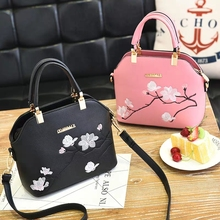 JUILE Handbag For Women 2019 Famous Designer Brand Bag Leather Panelled Lady Shoulder Girls Printing  bolso