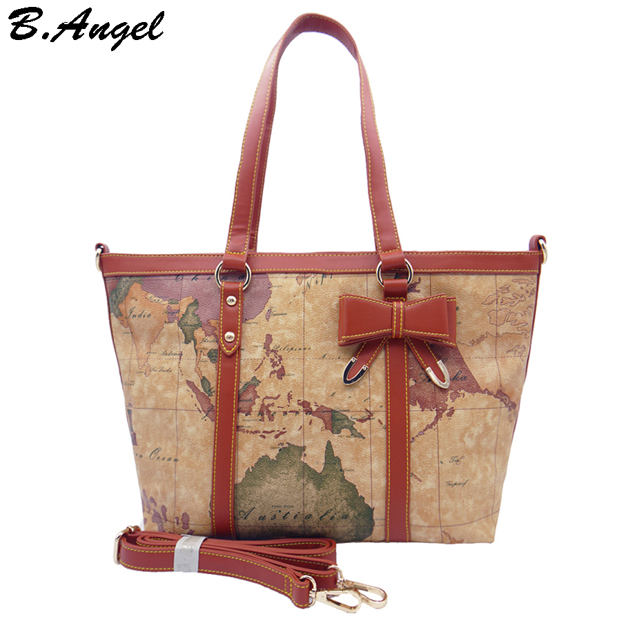 2016 new fashion high quality woman handbag shoulder bag tote bag 2016 new fashion high quality woman handbag shoulder bag tote bag world map bag in pvc star war map message in shoulder bags from luggage bags on gumiabroncs Choice Image