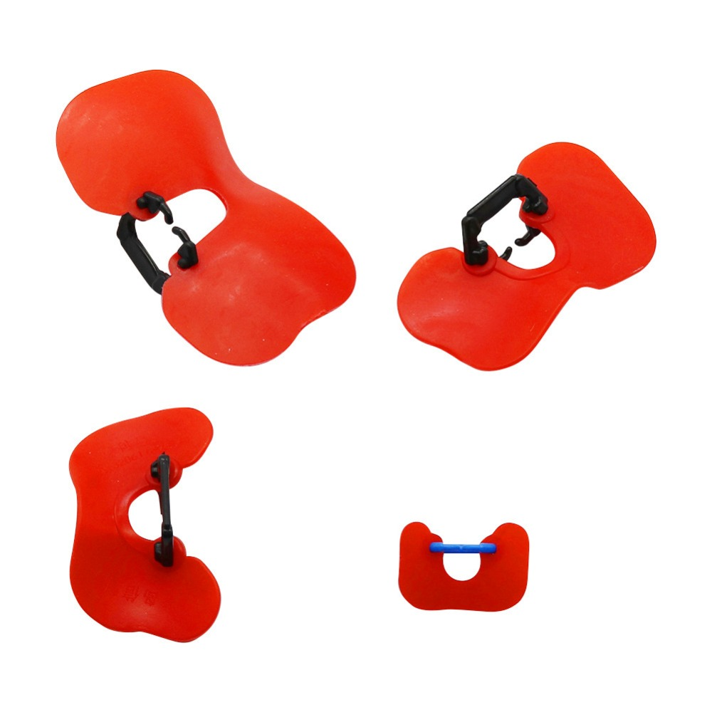 20 Pcs Hot Models Soft Red Glasses Anti-pecking Goggles Chicken Glasses Chicken Necessary Retail And Wholesale