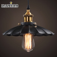 Cord Antique Black Lighting Fixtures Kitchen Island Office Modern Pendant Lights Vintage Pendant Lamp for Dining Room