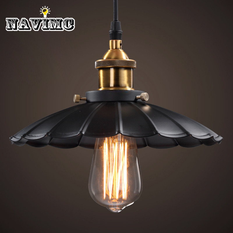 Cord Antique Black Lighting Fixtures Kitchen Island Office Modern Pendant Lights Vintage Pendant Lamp for Dining Room ...