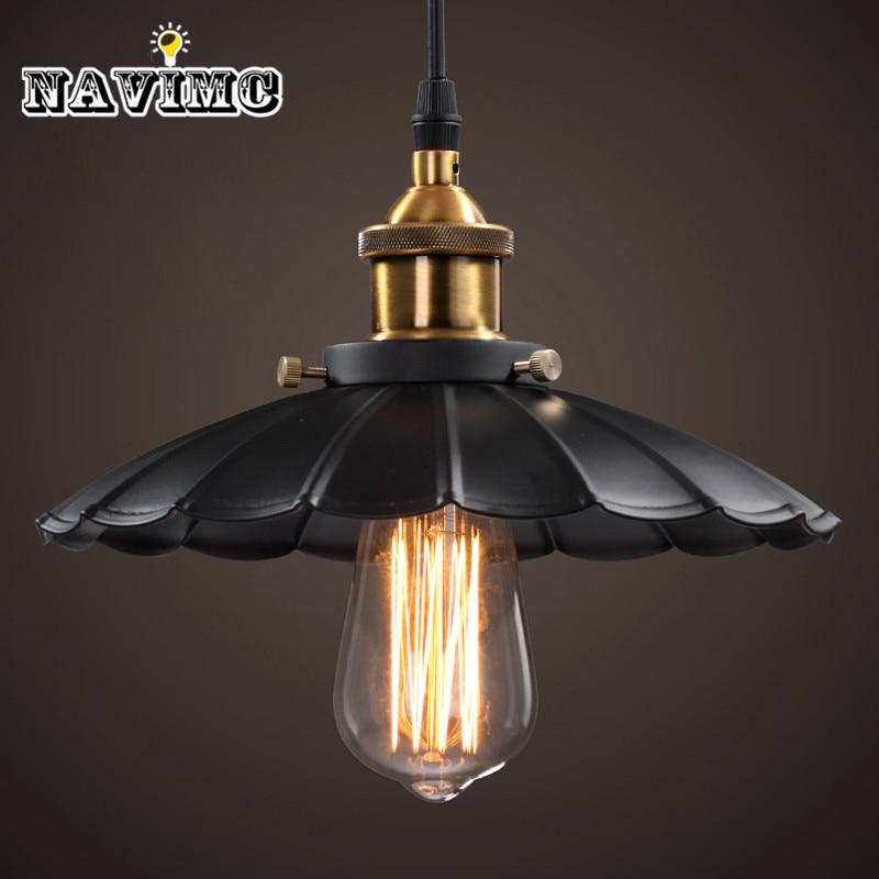 Cord Antique Black Lighting Fixtures Kitchen Island Office Modern Pendant Lights Vintage Pendant Lamp for Dining Room ...