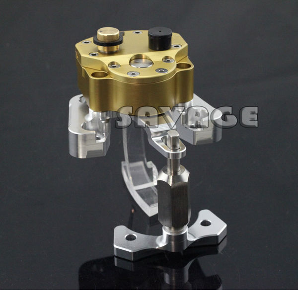 For DUCATI MONSTER 1100EVO 2011 2012 2013 New Motorcycle Steering Damper Stabilizer with Mounting Bracket Kit