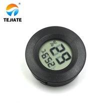 Круглый ЖК-цифровой термометр датчик гигрометра датчик температуры измеритель влажности округлость