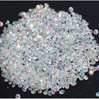 New 1400Pcs Micro Diamond DIY Nails Rhinestones Crystal Flat Back Non Hotfix Rhinestones stickers Need Glue Nail Art Decoration