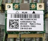 SSEA Groothandel Nieuwe Half Mini PCI Draadloze Wifi Kaart voor Broadcom BCM4322 DW1520 300 Mbps 802.11 a/b/g/n