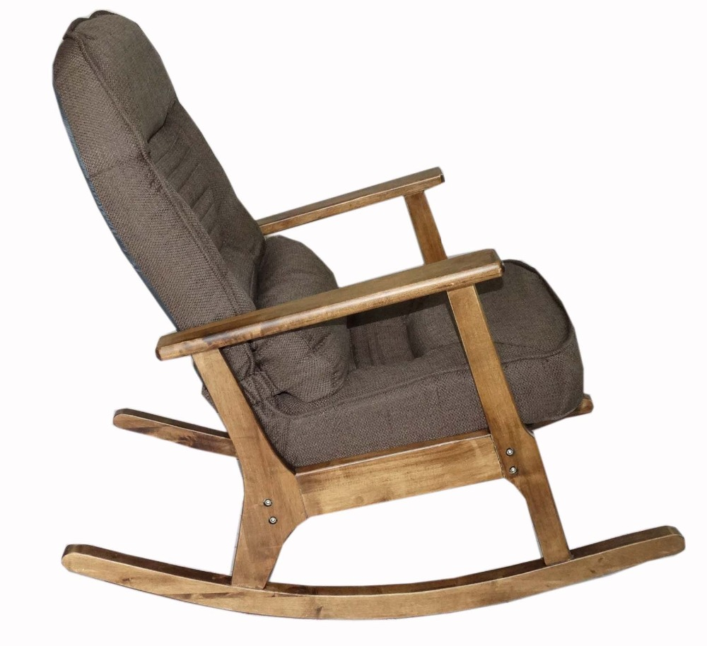 How to make a simple wooden rocking chair - Aliexpress Com Buy Wooden Rocking Chair For Elderly People Japanese Style Chair Rocking Recliner Easy Chair Adult Armrest Rocking Chair Cushions From
