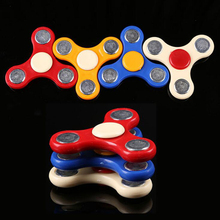 Tri-Spinners Fidget Toys Plastic Gyro EDC Hand Spinners For ADHD Kids/Adult Anti Stress Random Color