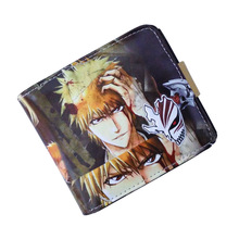 Purse Bleach Anime wallet Fairy Tail My Hero Academia Tokyo Ghoul wallet