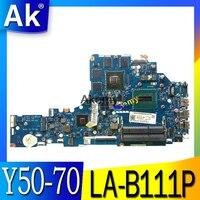 ZIVY2 LA B111P материнская плата для Lenovo Y50 70 Материнская плата ноутбука i7 процессор GTX860M оригинальная тестовая материнская плата ноутбук