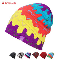 SN.SU.SK 2019 Warm Winter Hat Knitted Beanies Hats For Men Women Caps Skullies Gorros Casual Bonnet Beanie Cap
