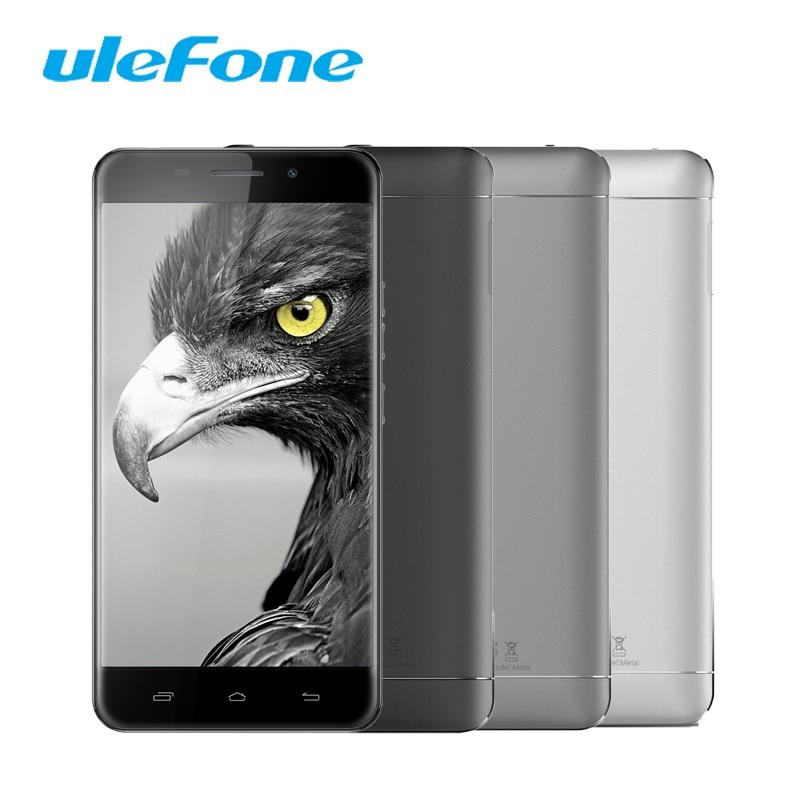 ulefone Metal Smartphone MT6753 Octa Core 1 3GHz 16G ROM 3G RAM Fingerprint Mobile Phones 5