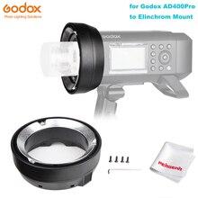 Godox AD400Pro Austauschbare Montieren Ring Adapter für Elinchrom Montieren Zubehör Godox AD400 Pro