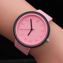 Новинка, relogio feminino, модные женские часы, номер, мужские часы, кварцевые, Холщовый ремень, наручные часы, платье, Wo, мужские часы