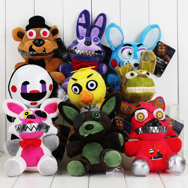 aliexpress com buy 9style five nights at freddy s plush toy bonnie