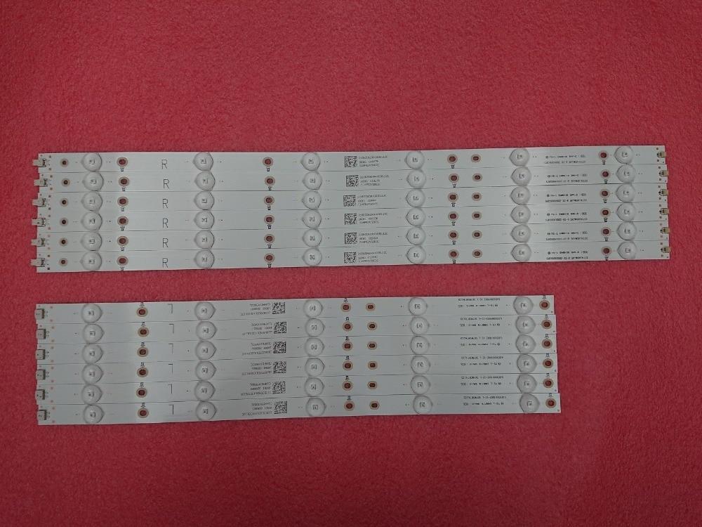 Novo Kit 12 PCS tira Retroiluminação LED