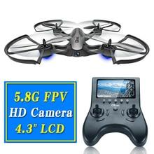 FPV 5.8 Г профессиональный дрон мультикоптер с камерой hd пульт дистанционного управления игрушки rc вертолет Quadrocopte дрон wi-fi copte