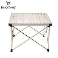 BLACKDEER отдых столы для пикника Портативный Алюминий Сплав стол открытый Регулируемая высота складной стол Сверхлегкий стол