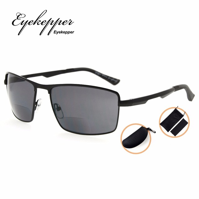 f645b0a74a PGSG802 Eyekepper Polycarbonate Polarized Bifocal Sunglasses Bifocal Sun  Readers Outdoor Polarised Reading Glasses +1.50~+2.50