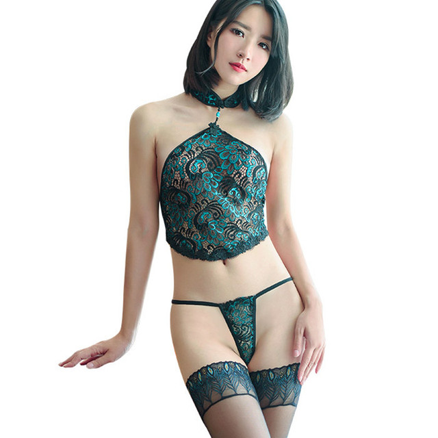 060cd7353 Ropa interior sexy ropa interior sexy + T + Pantalones medias ropa interior  exótica caliente Pavo