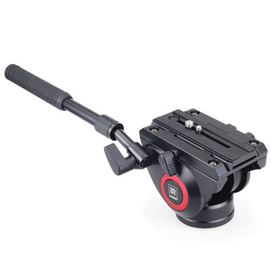 Image 2 - INNOREL H80 הידראולי נוזל חצובה ראש פנורמי וידאו עבור מצלמה חצובה חדרגל מחוון מייצב עם שחרור מהיר צלחת