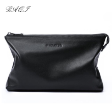 BAQI Brand Handbag Men Wallet Clutch Bag Genuine Leather Cowhide High Quality 2019 Fashion Purse Card Holder Men Ipad Phone Bag p kuone genuine leather clutch bag 2018 fashion high quality top men wallets luxury brand purse messenger handbag long wallet
