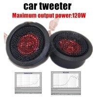 Hot Super Power falante estéreo de Áudio de Som Auto Universal de Alta Eficiência 2x120 W Mini Carro Tweeter Dome Loud falante