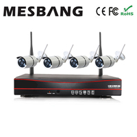 Hot cheap build in 1TB HDD hard disk 1.3MP 960P nvr kit wireless cctv camera system wifi 4ch delivery by DHL Fedex fast