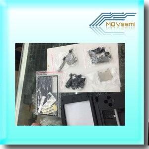 Image 4 - استبدال كامل الإسكان شل الحال بالنسبة نينتندو d 3DS XL/LL وحدة التحكم مع زر مسامير مجموعة أحمر/فضي/أبيض/أزرق/أسود الألوان