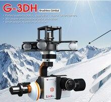 Бесплатная доставка 2015 Walkera g-3dh бесщеточный вращающийся Камера карданного с 360 градусов наклона Управление