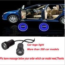 Für HYUNDAI LOGO Auto Willkommen Licht Tür schritt Grundprojektierenlampe Für Santa Fe/Elantra/CEED/IX35/Solaris etc