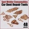 48pc Spotter Deluxe Stud Welder Kit Accessories SS 048