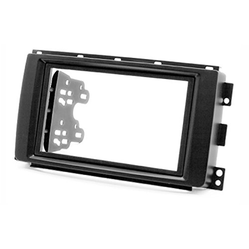 2 Din Car Radio Stereo Fascia Panel Frame DVD Dash Installation Kit for Smart Fortwo (Br451) 2007-2010 with 173*98mm 178*102mm 2 din car radio stereo fascia panel frame dvd dash installation kit for ssang yong tivoli 2015 with 178 102mm 173 98mm