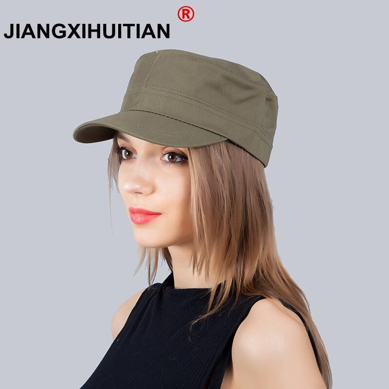 28e839895af MUQGEW Spring 2018 Vintage For Women Military Classic Winter Women Painter Winter  Hats For Women Men cotton